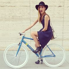 Fashion-Approved Ways to Look Stylish While Biking   StyleCaster