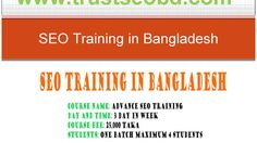 SEO training center in Dhaka, Bangladesh | Best SEO course Dhaka