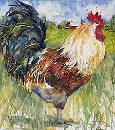 Majestic, watercolor by Annelein Beukenkamp