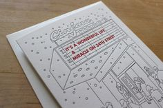 Christmas in New York by Moontree Letterpress