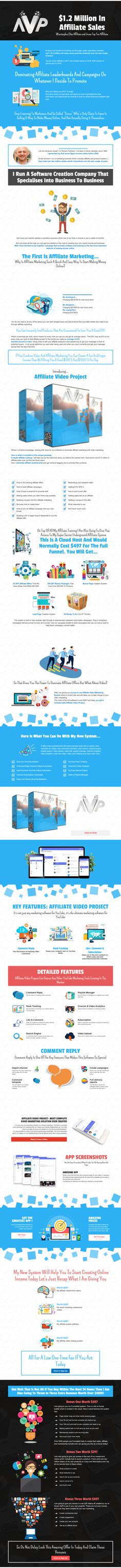 Affiliate Video Project is In depth affiliate training + Software. Richard will take you by the hand and show you behind the scenes how he has earn over $1.2 million in affiliate sales over just the last three years The post Affiliate Video Project appeared first on DiscountSAAS. Marketing Software, Internet Marketing, Training Software, Video Project, Seo Tools, Online Business, Behind The Scenes, Popular, Projects