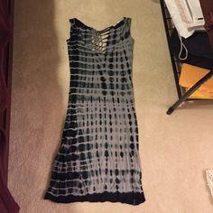 Tie-dye dress - small Tie-dye dress Anama Dresses Midi