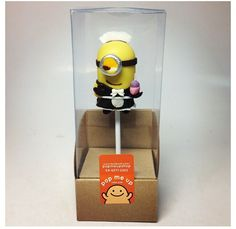 Minion cake pop - Need to find these boxes!