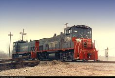 SP 2756 Southern Pacific Railroad EMD MP15AC at Kansas City, Missouri by Steve Bailey