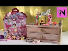 Glitzi Globes Disney Princess Belle Cinderella Playset Huge Surprise Treasure Box - YouTube