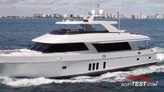 Ocean Alexander 90 Motoryacht Review 2014- By BoatTest.com