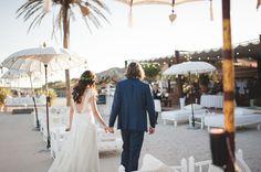 Image by Padilla & Rigau Photographers - Marcela Mansergas Bridal Destination Wedding Ibiza at La Escollera Photography by Padilla & Rigau Photographers