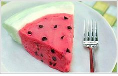 Watermelon Ice Cream Cake from Fearless Homemaker.