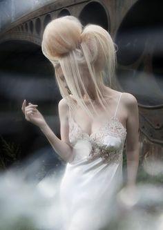 Emotional (hair styling) by Sølvi Strifeldt Wedding Hairstyles, Cool Hairstyles, Hairdos, Catwalk Hair, Love Hair, Big Hair, Avant Garde Hair, Fashion Shows 2015, Hair Shows