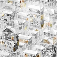 Old and new homes of migrants in Toronto. Evan... - Imaginario sugestivo