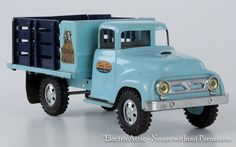1957 Tonka Toys Baby Blue Farm Stake Truck All Original