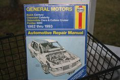 "Haynes General Motors Automotive Repair Manual 1982-93  From the Cover and Title page: ""General Motors - Buick Century, Chevrolet Celebrity,"
