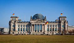 The iconic Bundestag