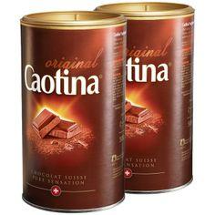 Caotina Hot (or Cold) Chocolate