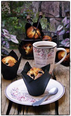 Exquisitos Muffins de arándanos