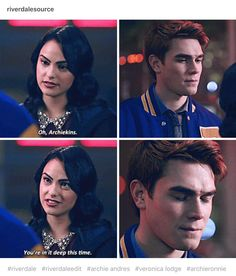 Riverdale Veronica and Archie ❤️