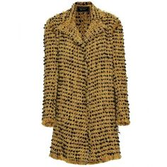 Lanvin Bouclé Coat ($4,250) ❤ liked on Polyvore