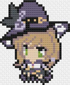 Embroidery Art, Cross Stitch Embroidery, Cross Stitch Patterns, Pixel Art Grid, Anime Pixel Art, Minecraft Pixel Art, Spiderman Art, Beaded Cross Stitch, Perler Bead Art