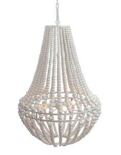 Lifestyle Bella Perlen Lampe weiß L hängen