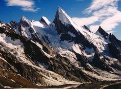 Laila Peak in the Karakoram