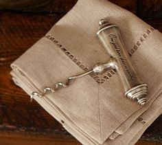 Antique-Silver Wine Pull