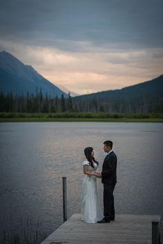 Wedding Or Elopement Location In Banff National Park Alberta Canada