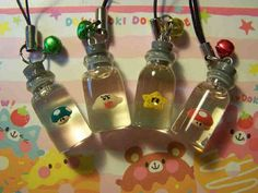 Pokemon inspired Bottle Charm Charmander by SheepPeep on Etsy | Bottled Up | Pinterest