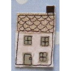 a little cottage brooch