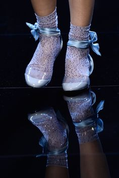 Shoes with socks at Armani Prive Spring / Summer 2016