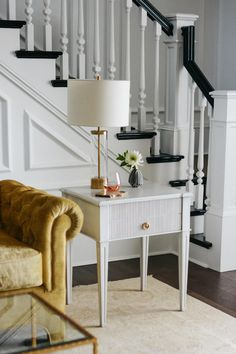 Ave Home | Liam End Table Three Drawer Dresser, Dresser Drawers, Swedish Design, Style And Grace, Whats New, End Tables, Entryway Tables, Traditional, Contemporary