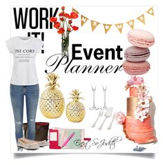 """Event Planning Day"" by judith-events-blogger-diy-host on Polyvore featuring interior, interiors, interior design, home, home decor, interior decorating, Darice, Louis Vuitton, River Island and ICE London"