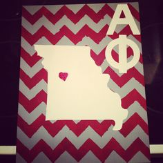 University of Central Missouri, Alpha Phi... except I would want it for California and the University of the Pacific