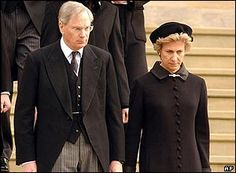Duke and Duchess of Gloucester at the funeral of his mother, HRH Princess Alice,  in Oct 2004
