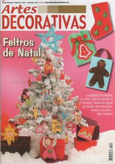 Free Copy of Book - lots of cute felt ornament to make!