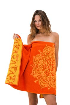 Get your zen on ... These luxury bath towel is available at our shop , they are so beautiful & durable . Spcially designed to add a unique touch of spirituality to your bathrooms. Woven from dyed cotton yarns , soft and thick.   This towel is designed by the amazing Rafi Baba from @MandalaLifeART