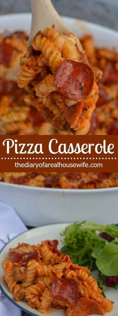 Pizza Casserole. You are going to love this one, The perfect family friendly recipe!
