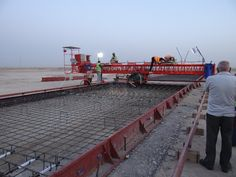 UNiSTEEL RCP 750 working in Iraq at Airport
