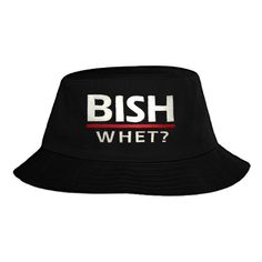Bish Whet Bucket Hat ❤ liked on Polyvore featuring accessories, hats, fisherman hat, fishing hat and bucket hat