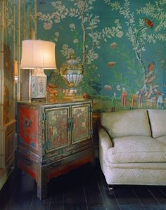 oriental--absolutely fabulous blending of colors and textures.