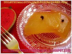 ΚΑΡΠΟΥΖΙ ΓΛΥΚΟ ΤΟΥ ΚΟΥΤΑΛΙΟΥ!!! ...by nostimessyntagesthsgwgws.blogspot.com Greek Sweets, Greek Desserts, Greek Recipes, Fruit Preserves, Appetisers, Marmalade, Cake Recipes, Deserts, Cooking Recipes