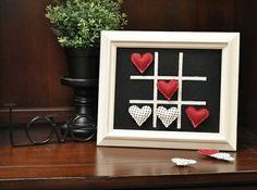 Geschenkideen zum Valentinstag Männer-Bilderrahmen Herzen