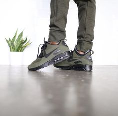 Nike Air Max 2013 Army Green Black