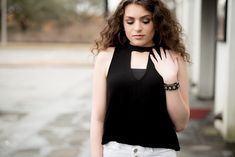 Black and White classic outfit for today's Fashion Friday  Senior picture outfit ideas