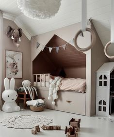 How gorgeous is this kid's room by 👈🏻 Miffy lamp and Eos light shade are all available online 💕 . Miffy Lampe, Bedroom Colors, Bedroom Decor, White Light Shades, Homemade Beds, Childrens Room Decor, Scandinavian Home, Bed Storage, Bed Design