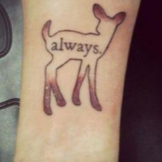 Harry potter inspired tattoo
