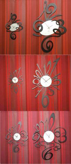 Relojes con Diseños Originales www.complementosdecoracion.com