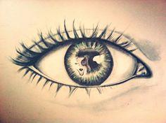 Reflection #pencil art # art Suzy Nesmith