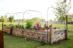 Love her raised beds. Just gorgeous!