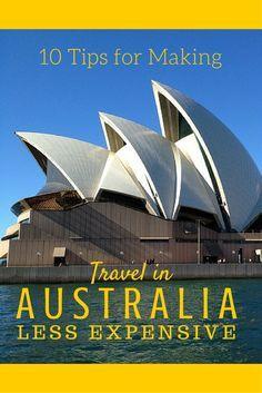 10 Tips for Making Travel in Australia Less Expensive