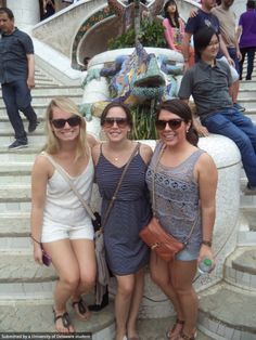 A weekend in Barcelona for students studying abroad last summer.